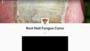 toe nail fungus cures