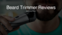 Professional Beard Trimmer & Vacuum Stubble