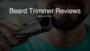 Professional Beard Trimmer & Vacuum Stubble