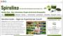 Spirulina Algen - Mikroalgen Superfood