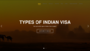 indian visa application
