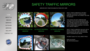 Safety traffic mirrors