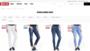 Spodnie damskie / spodnie dżinsowe z wysokim i niskim stanem - sklep internetowy BIG STAR 2017