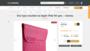 Etui typu wsuwka na Apple iPad 4th gen. - różowy - iPad 4 - Sklep internetowy Digimania.pl